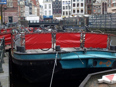 Parking rowerowy na barce